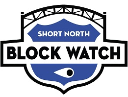 Short North Blockwatch Sticky Logo