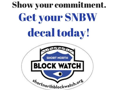 Block Watch Decal