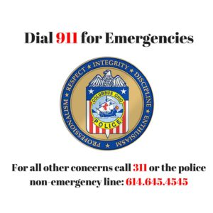 Call 911 for Emergencies (1)